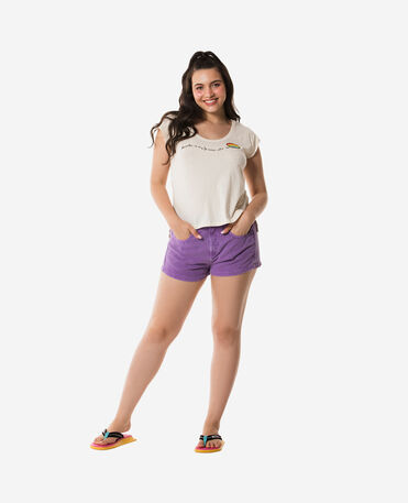 Havaianas T-Shirt My Fav Colour Embroided - T-shirts woman - OFF WHITE