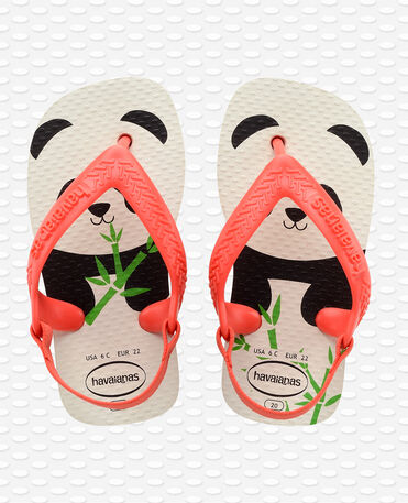 Havaianas Baby Pets II - white/strawberry - Flip flops - Kids