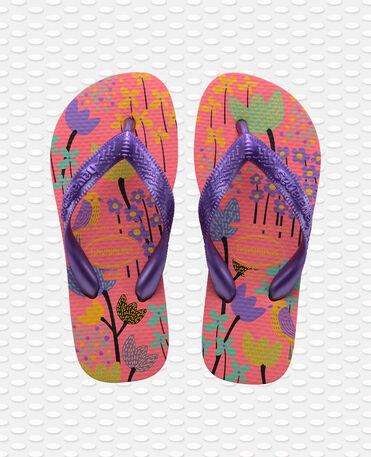 Havaianas Kids Flores - flip-flops - PINK PORCELAIN - niño
