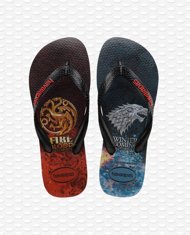 Havaianas Top Game of Thrones - Black - Flip flops