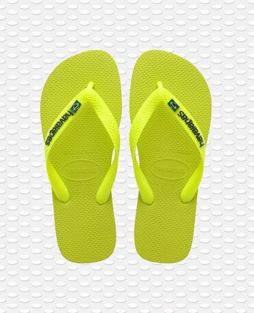 Havaianas Brasil Layers - flip-flops - GALACTIC GREEN - unisex