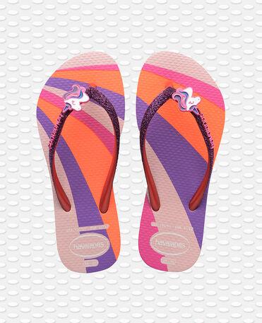 Havaianas Kids Slim Glitter II - flip-flops - CANDY PINK - niño