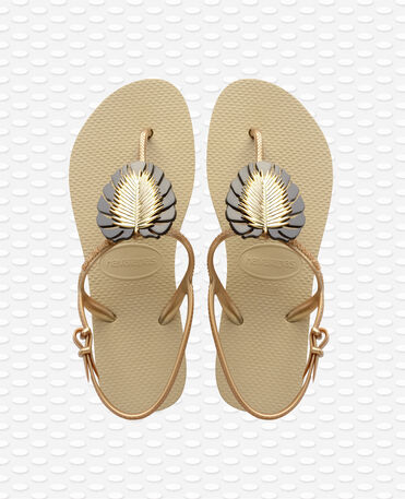 Havaianas Freedom Metal Pin - Sand Grey Sandals Women