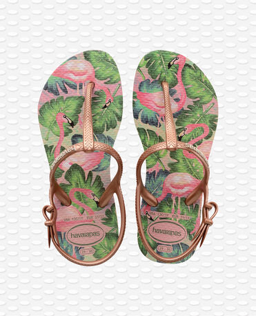 Havaianas Kids Freedom Print - rose nude - Sandals - Kids