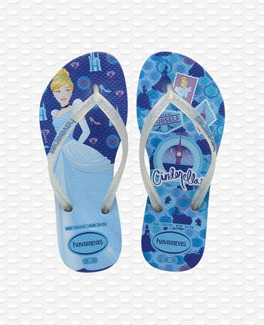 Havaianas Kids Slim Princess - Blue star - Flip flops - Kids