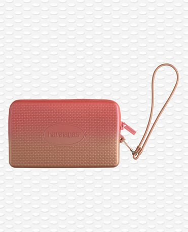 Havaianas Mini Bag Plus Cool Metallic -  Borsa da Spiaggia  Giallo Golden Blush / Rosa Hibiscus Donna