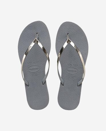 Havaianas You Metallic - city-sandals - STEEL GREY - mujer