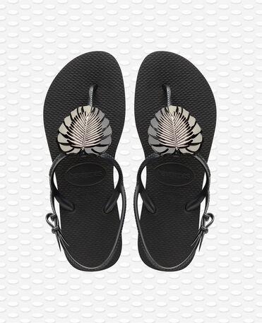 Havaianas Freedom Metal Pin - Sandales Noires Femme