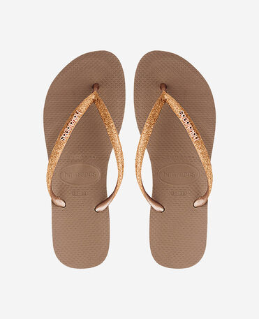 Havaianas Kids Slim Shiny - flip-flops - ROSE GOLD - niño