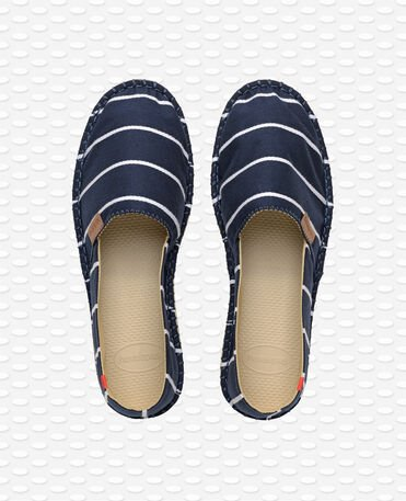 Havaianas Origine Stripes - Espadrillas - blu navy - Uomo