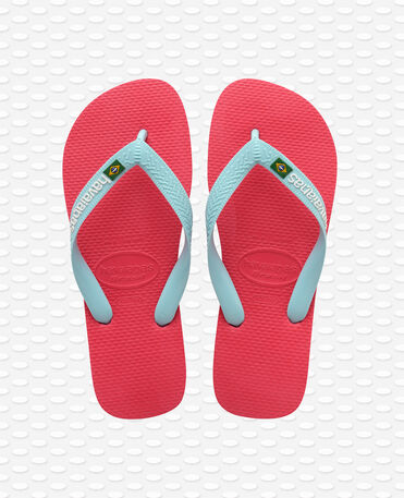 Havaianas Brasil Logo - Flip Flops - Flamingo