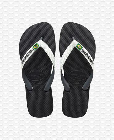 Havaianas Brasil Mix - Flip Flops - Schwarz/Weiss
