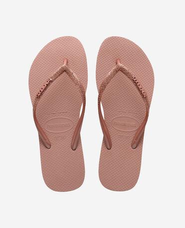 Havaianas Slim Glitter II - flip-flops - CROCUS ROSE - mujer