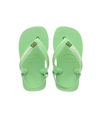 Havaianas Baby Brasil Logo II - flip-flops - HYDRO GREEN - bebe