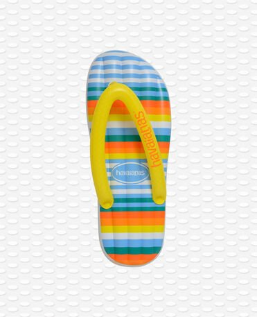 Havaianas Print Lilo - White/Orange - Pool and Beach Inflatable