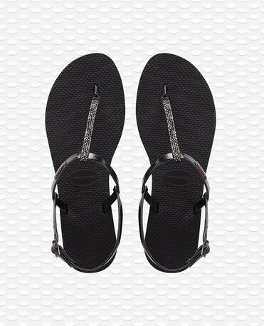 Havaianas You Riviera Crystal - Black - Flip Flops - Women