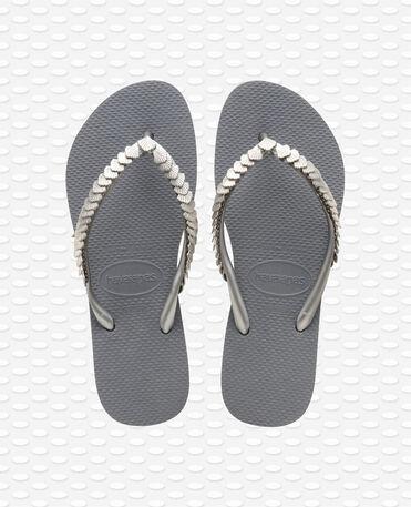Havaianas Slim Shell Mesh - Grey Flip flips Women