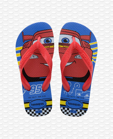 Havaianas Kids Cars - Flip Flops - blauer Stern / Rubinrot - Kinder
