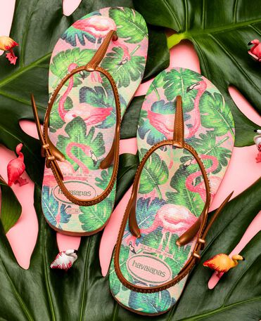 Havaianas Freedom Print - Apple green - Sandals - Women