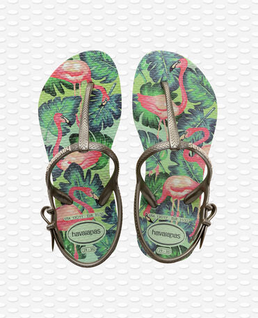 Havaianas Kids Freedom Print - apple green - Sandals - Kids
