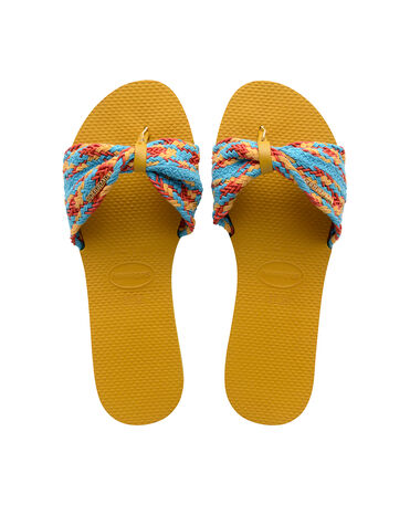 Havaianas You St Tropez Mesh - city-sandals - MUSTARD - female