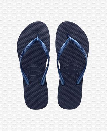 Havaianas Slim - Chinelos - Azul Marinho - Mulher