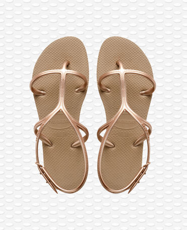 Havaianas Allure - Rose Gold - Flip Flops - Women