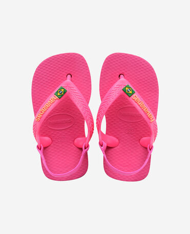 Havaianas Baby Brasil Logo II - flip-flops - PINK FLUX - bebe