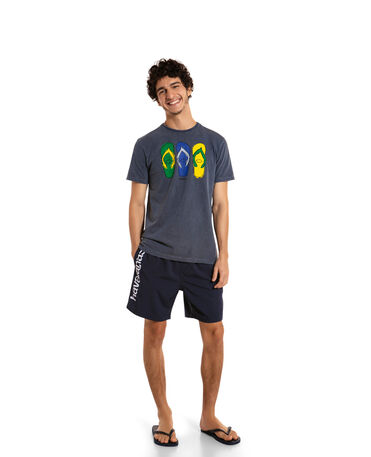 HAVAIANAS TSHIRT REGULAR COTTON FF COLLAGE