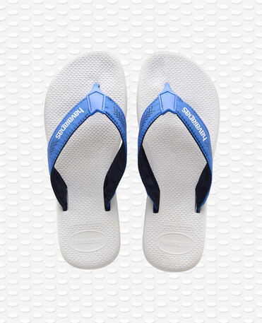 Havaianas Surf Pro - white/blue star - Flip flops - Men