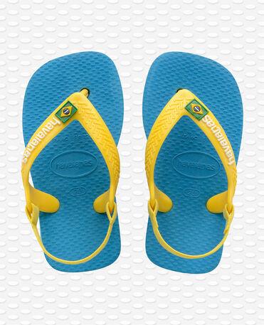 Havaianas Baby Brasil Logo II - Tongs - Turquoise - Enfants