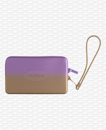Havaianas Mini Bag Plus Cool Metallic - Borsa da Spiaggia Giallo Golden Blush / Viola Donna