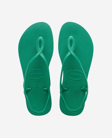 Havaianas Luna - beach sandals - TROPICAL GREEN - unisex