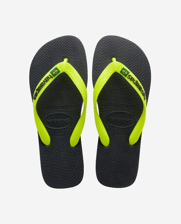 Havaianas Brasil Logo - flip-flops - NEW GRAPHITE - unisex