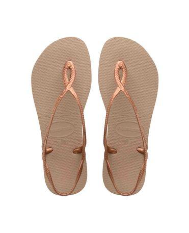 Havaianas Luna - beach sandals - ROSE GOLD/ROSE GOLD - female