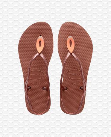 Havaianas Luna Special - Bronze nude - Sandals - Women