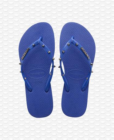 Havaianas Slim Hardware - Marine Blue - Flip Flops - Women