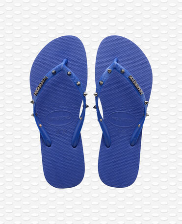 Havaianas Slim Hardware - Flip Flops - Marineblau - Damen