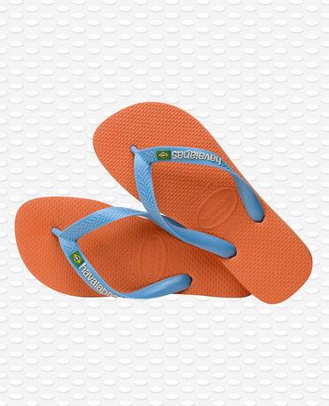 Havaianas Brasil Logo - Flip Flops - Orange Bronze