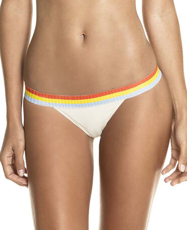 HAVAIANAS BIKINI BOTTOM FABRIC BRASIL SOLID SUNSET