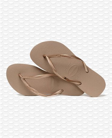 Havaianas Slim - Rose Gold - Flip Flops - Women