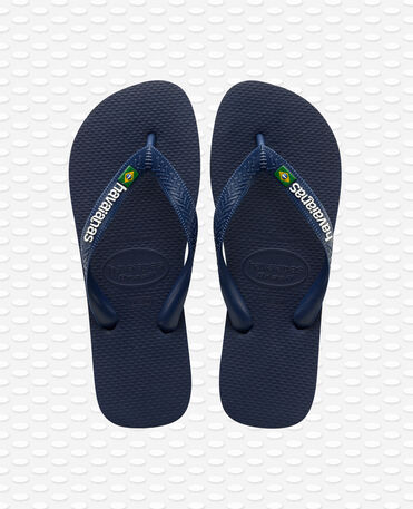 Havaianas Brasil Logo - Navy blue - Flip flops