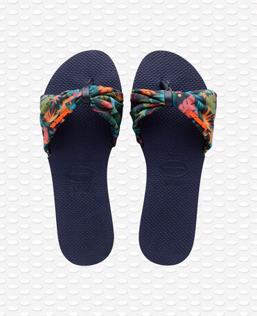 Havaianas You St Tropez - city-sandals - NAVY BLUE - mujer
