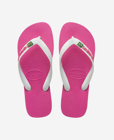 Havaianas Brasil Logo - flip-flops - HOLLYWOOD ROSE - unisex
