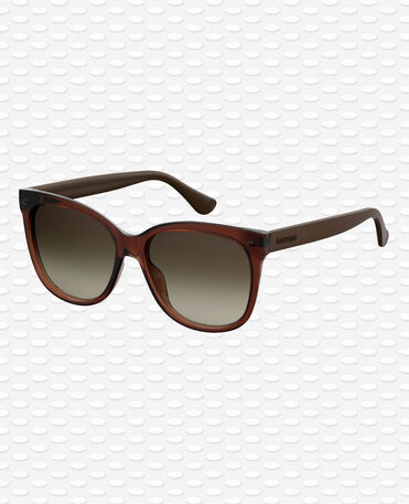 Havaianas EyewearSahy Shaded- Brown Sunglasses Women
