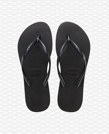Havaianas Slim - Black - Flip Flops - Women