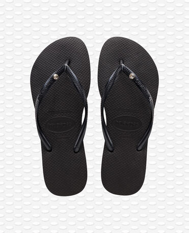 Havaianas Slim Crystal Glamour SW - Infradito - Nero - Donna