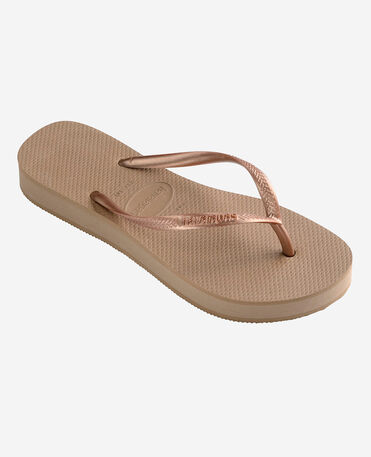 Havaianas Slim Flatform - flip-flops - ROSE GOLD - mujer