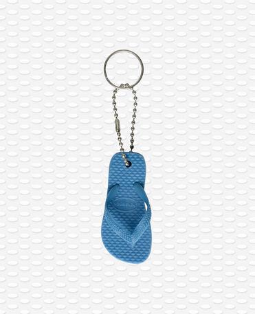Havaianas Keyring - blue - Keyring flip flop shape