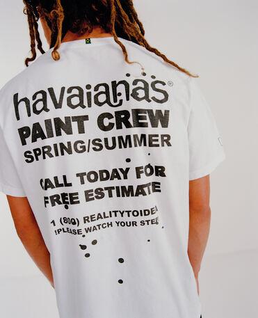 Havaianas Camiseta Back To Reality - WHITE